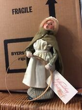 BYERS Choice Williamsburg Christmas Colonial Girl retired 1998