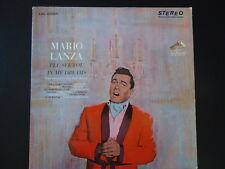 "MARIO LANZA ""I'LL SEE YOU IN MY DREAMS""  33 RPM  Vinyl LP  RECORD  Vintage music"
