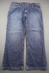 Men's Claiborne Jeans Straight Leg Size 36x30 (Measurements 36x28) Zipper Fly