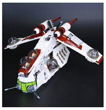 STAR WARS REPUBLIC GUNSHIP- Lego Compatibile 75021 - Nuovo
