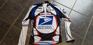 Us postal cycling Jersey long sleeve medium