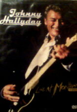 JOHNNY HALLYDAY LIVE at MONTREUX 1988 Eighteen Songs Dolby+DTS+PCM  SEALED DVD