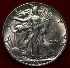 Uncirculated 1939-D Denver Mint Silver Walking Liberty Half
