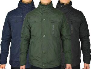 Crosshatch Mens Woodrow Double Layer Winter Jacket
