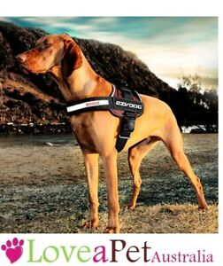 EzyDog - Ezy Dog Convert Dog Harness - BURGUNDY  with 1 year warrantee