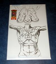 CRYPTOZOIC MAN #4 E sketch variant special edition DYNAMITE COMIC BOOK MEN TV