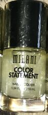 1 Milani Color Statement Nail  Lacquer New PEARL-PLEXED SHEER