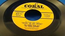 DON CORNELL, ALAN DALE & JOHNNY DESMOND - Heart Of My Heart - 1955 VG+ USA Press