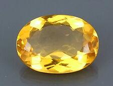 TOP CITRINE : 22,94 Ct Natürlicher Gold Gelb Bahia Citrin aus Brasilien