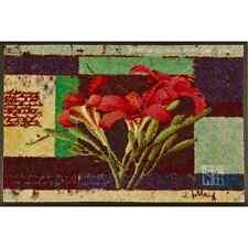 wash+dry Fußmatte Türmatte waschbar Franz Heigl Lily in Harmony 50 x 75 cm