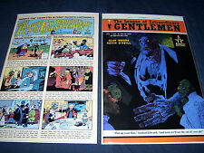 The League of Extraordinary Gentlemen #4 and #6 with Bag and Board