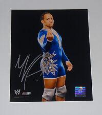 Wwf Wrestler Mvp Signed Autographed 8x10 Photo Coa Free Shipping