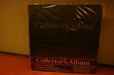 Collector's PAGES ACID PVC FREE ARCHIVAL SAFE ALBUM 3 RING 9 pocket trading card