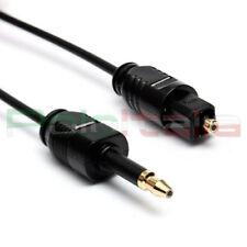 Cavo da 1 a 5m audio TOSLINK mini plug Jack 3,5mm ottico digitale optical cable