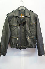 VINTAGE CHEYENNE LEATHER MOTORCYCLE BRANDO JACKET SIZE M