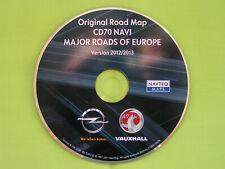 NAVIGATION OPEL CD 70 NAVI EUROPA 2013 ZAFIRA ASTRA H CORSA SIGNUM COMBO VIVARO