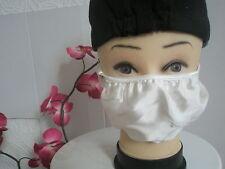1 Anti Flu & Dust & Hay Fever & Pollen & Virus Pollution White 2 Layer Silk Mask