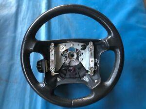 Rover 800 Black Leather Steering Wheel (Part #: QTB101240LNF XG)
