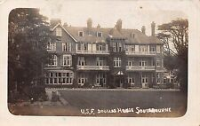 POSTCARD  BOURNEMOUTH   SOUTHBOURNE  USF  Douglas  House