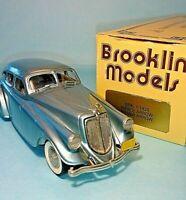 "MOTOR CITY & BROOKLIN MODELS-1/43 -1933 PIERCE-ARROW ""SILVER ARROW"" -BRK.1-RARE"