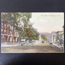 Vintage Pre 1916 Main Street Cooperstown New York Postcard