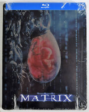 The Matrix (Blu-ray Disc, 2012, SteelBook) New Sealed Keanu Reeves
