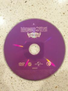 Monster High 13 Wishes - DVD - DISC ONLY