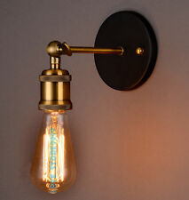 Vintage LED Wandleuchte Wandlampe Edison Lampe Loft Retro Leuchte Lampenhalter