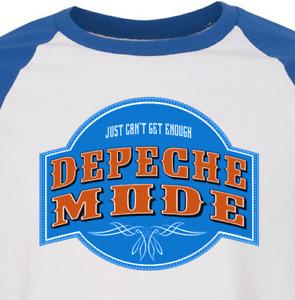 DEPECHE MODE new wave blue T SHIRT  goth emo rock All sizes S M L XL