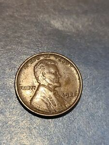 1922 WEAK D LINCOLN WHEAT CENT * SCARCE COIN