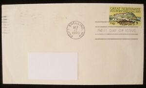 United States Stamps GREAT NORTHWEST 1820 FT SELLING 1970 First Day Issue Stamp