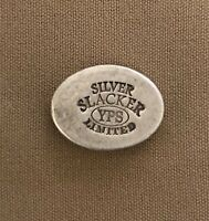 1 oz Hand Poured 999 Silver Bullion Bar - YPS - Yeager's - 2020 Silver Slacker