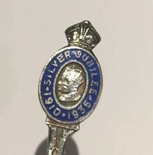 King George V Queen Mary  1910-1935. & George VI. 1936 Spoons.Selling Individual