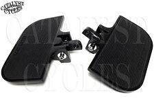 Black Mini Floorboards for Harley & Other Motorcycles Front or Rear Foot Boards