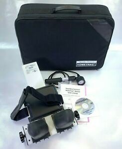 Saunders Cervical Hometrac Deluxe Traction Device with Case Manual DVD Videos