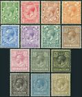 1912-22 Royal Cypher Sg 351-396 Average Mounted Mint Single Stamps