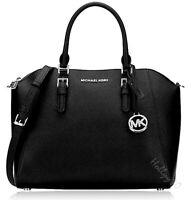 Michael Kors tasche handtasche ciara  lg satchel schwarz  neu 35h5sc6s3l