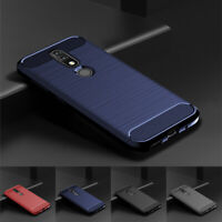 For Nokia 4.2 3.2 2.2 1 Plus X71 Slim Fiber Carbon Case Silicone Soft TPU Cover