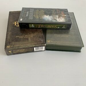 The Lord Of The Rings - The Fellowship Of The Ring - VHS