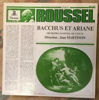 Roussel*, Orchestre National De L'Ortf, Jean Martinon – Bacchus Et Ariane LP