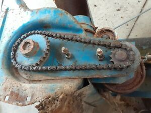 Vintage Homelite S-4 Snowblower Chain and Sprocket