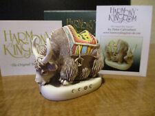 Harmony Kingdom Wanda's Yak Marble Resin Box Figurine Sgn Le 250 Rare