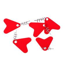 10pcs Edelstahl Jig Spinners Wires Forms Spinner Zubehör FishingTooTPI