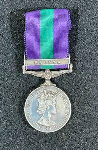Post WW2 British General Service Medal (GSM), Malaya Bar Clasp