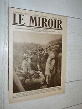 MIROIR 26/08 1917 GUERRE BEAUMONT MEZERGUES MANONVILLER YSER NOYON USA INDIENS