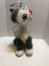 American Greetings Twisted Whiskers Plush Merry Christmas Angel Kitty Cat Slim