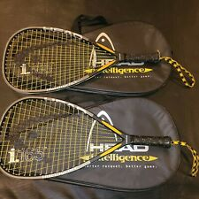 2 x Head Intellifiber i165 Racquetball Racquet 3 5/8 grip Intelligence