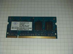 💻 RAM 512MB  DDR2  PC2-4200s