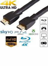 PREMIUM ULTRAHD HDMI CABLE HIGH SPEED 4K 1080p LEAD Xbox DVD Player TOP QUALITY