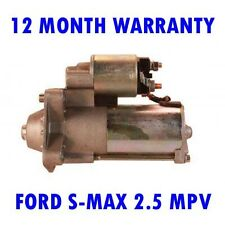 FORD S-MAX 2.5 MPV 2006 2007 2008 2009 2010 - 2014 REMANUFACTURED STARTER MOTOR